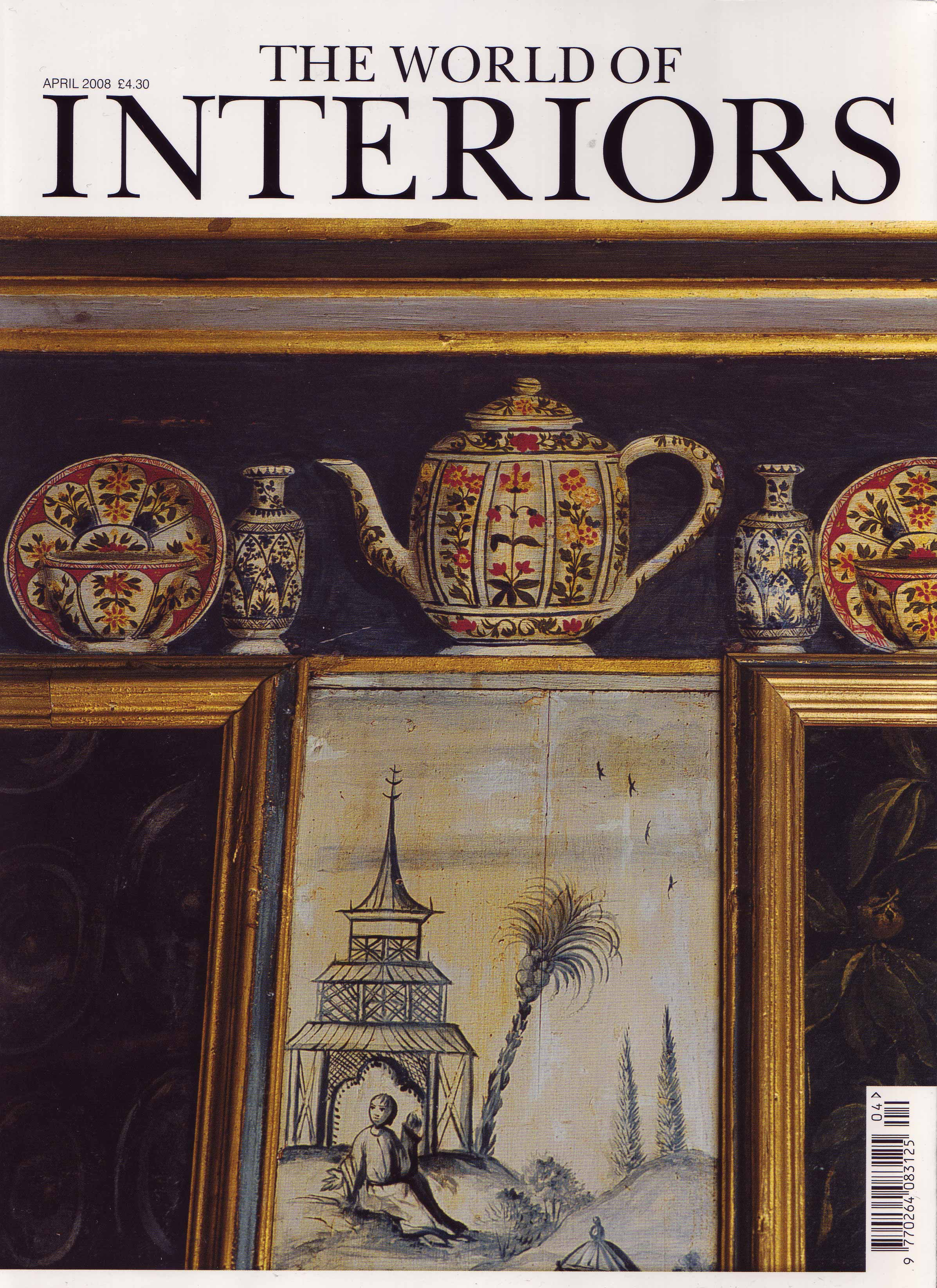 The World Of Interiors April 2008