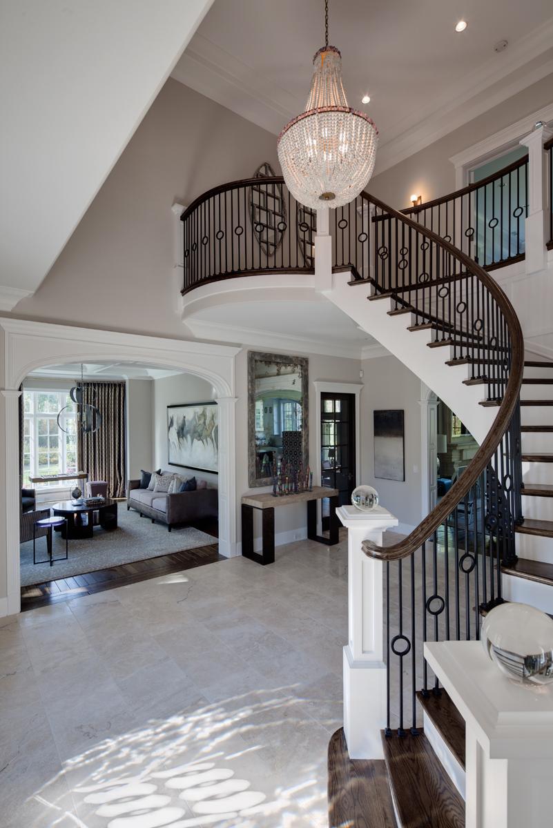 Buckingham interior design private residence il