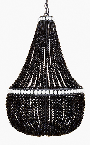 Black Onyx Empire Chandelier