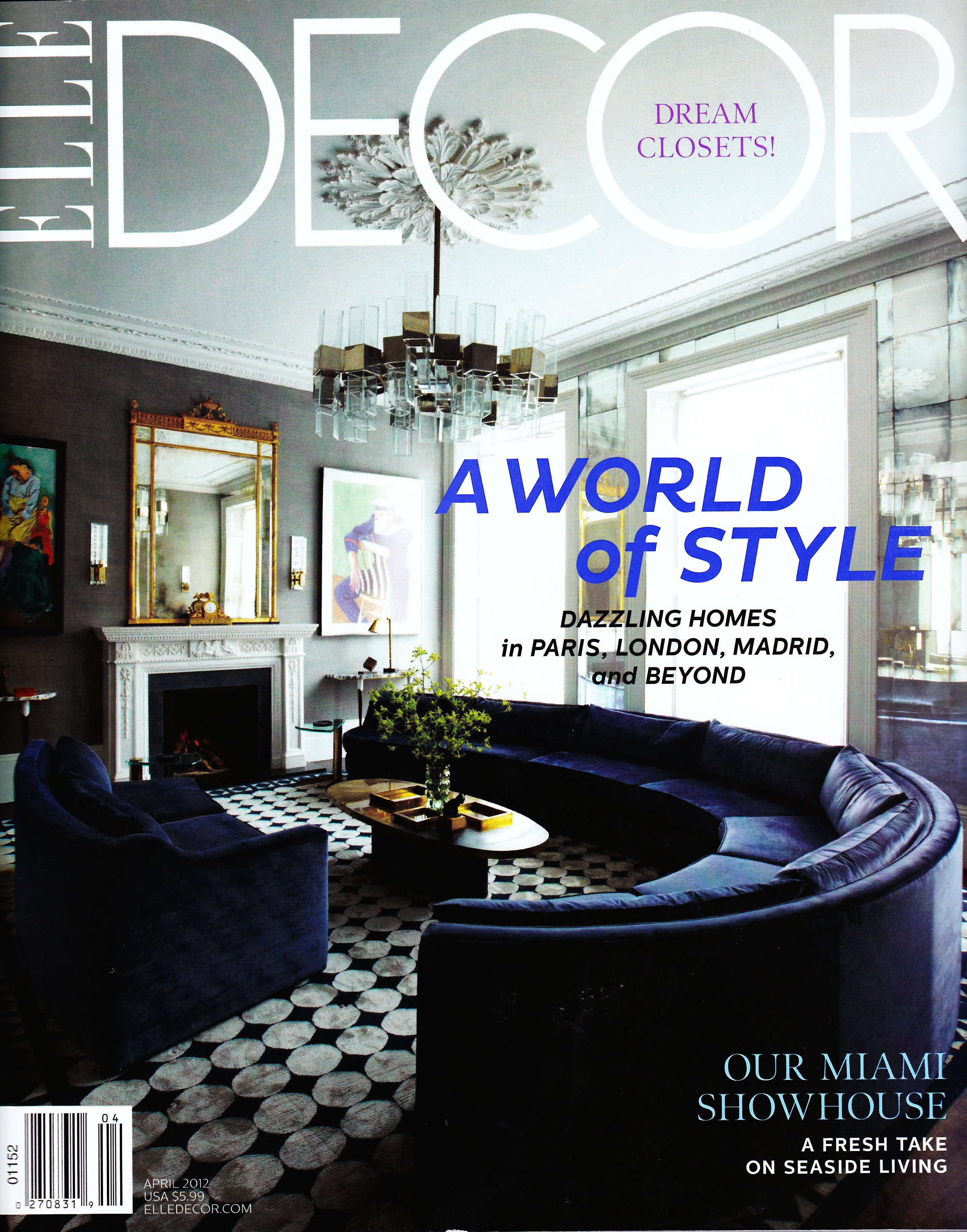Elle Decor April 2012
