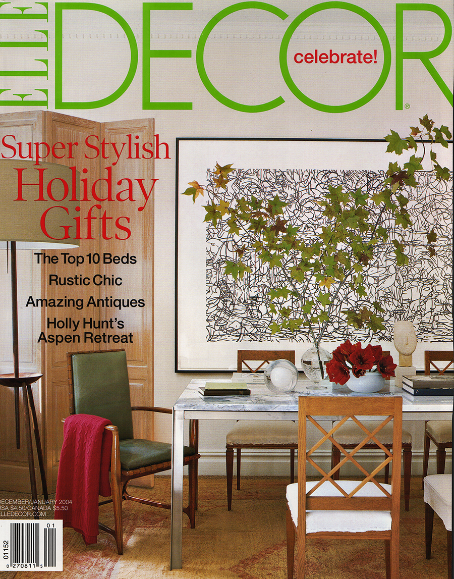 Elle decor january 2004 for Decorate pictures