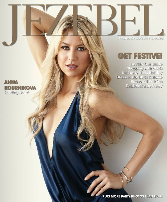 Jezebel Mag December 2... Anna Kournikova