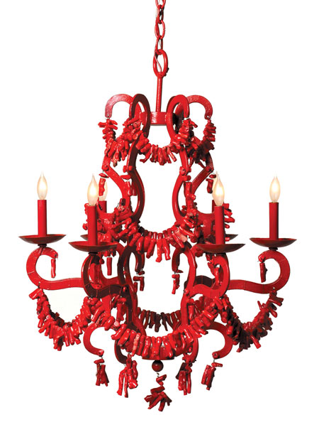Red Coral Chandelier – Coral Chandelier