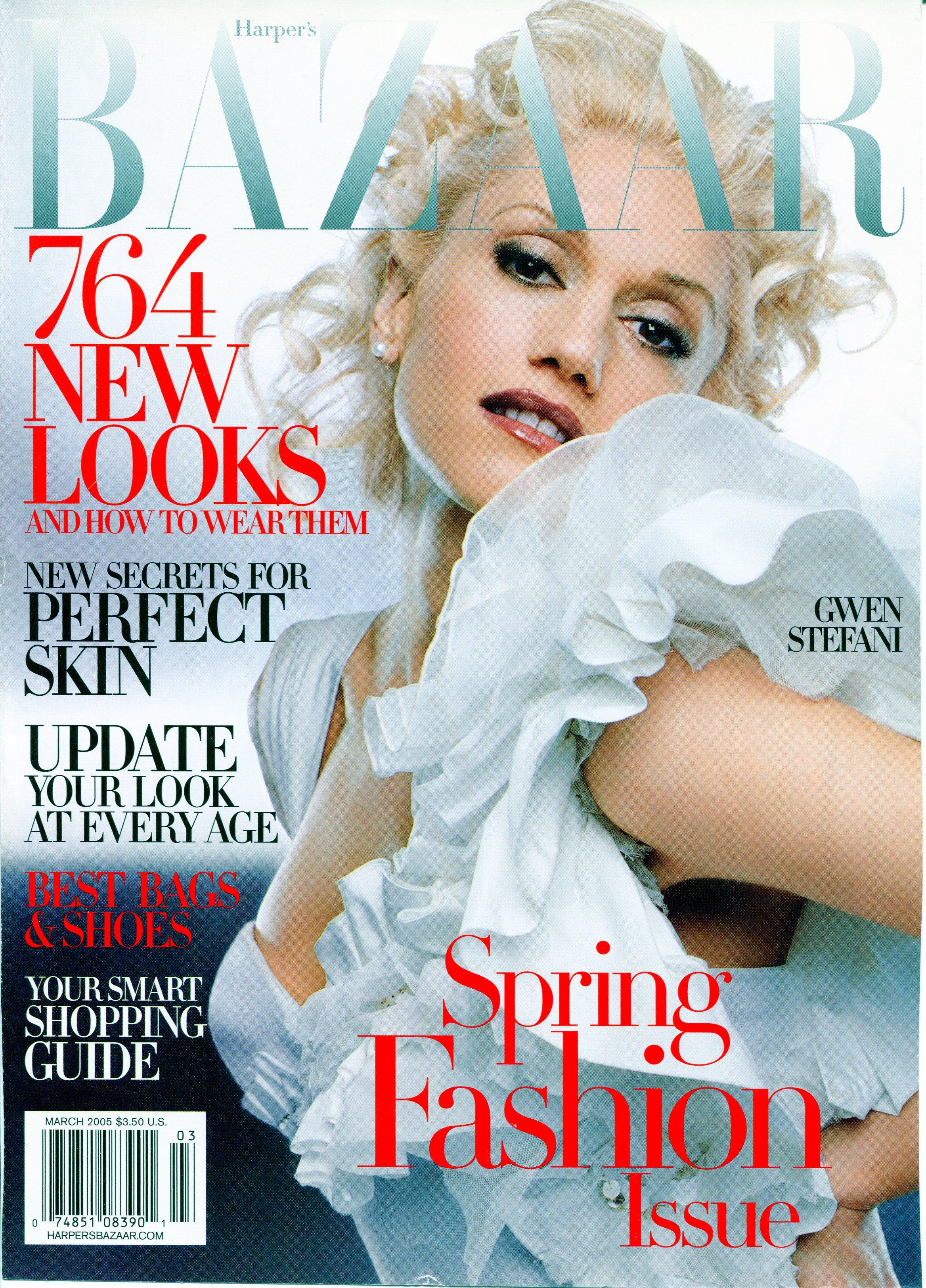 Harper's Bazaar March 2005_1