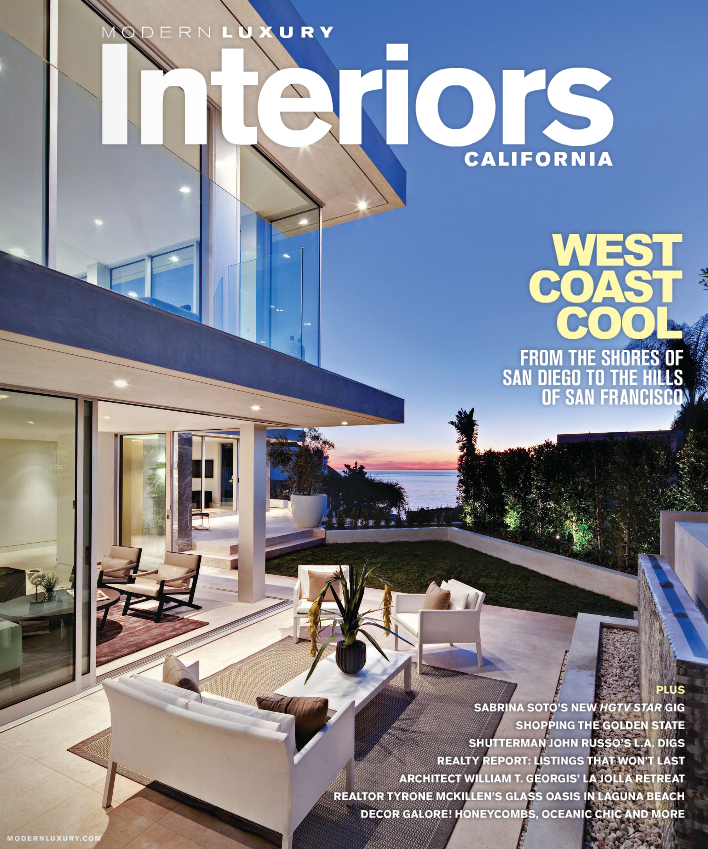 Interiors california summer 2013 for Southern california interiors