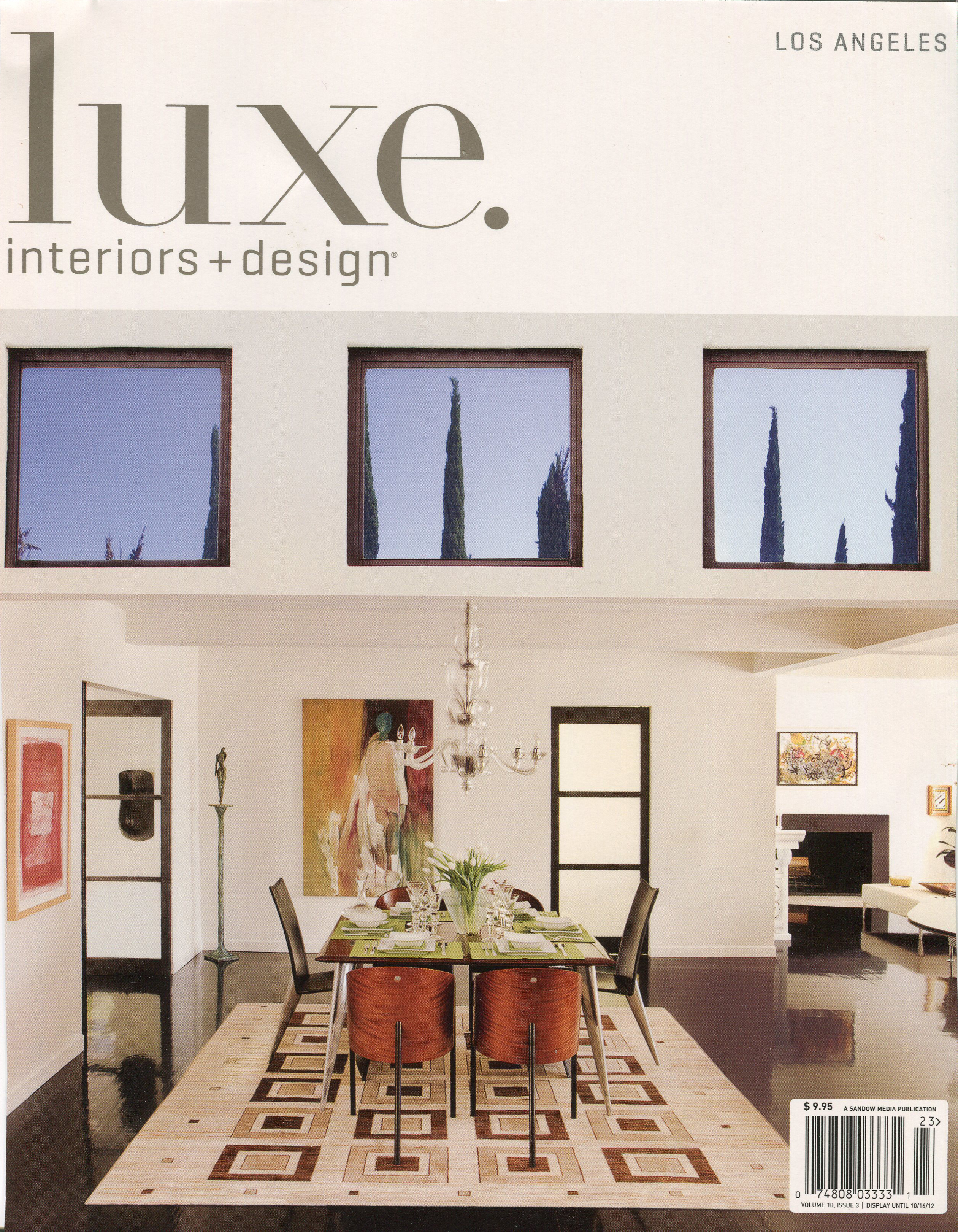 luxe interiors design july 1012_1 - Luxe Interiors And Design Magazine