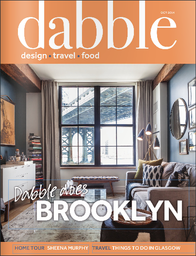 Dabble Magazine October 2014 Cover