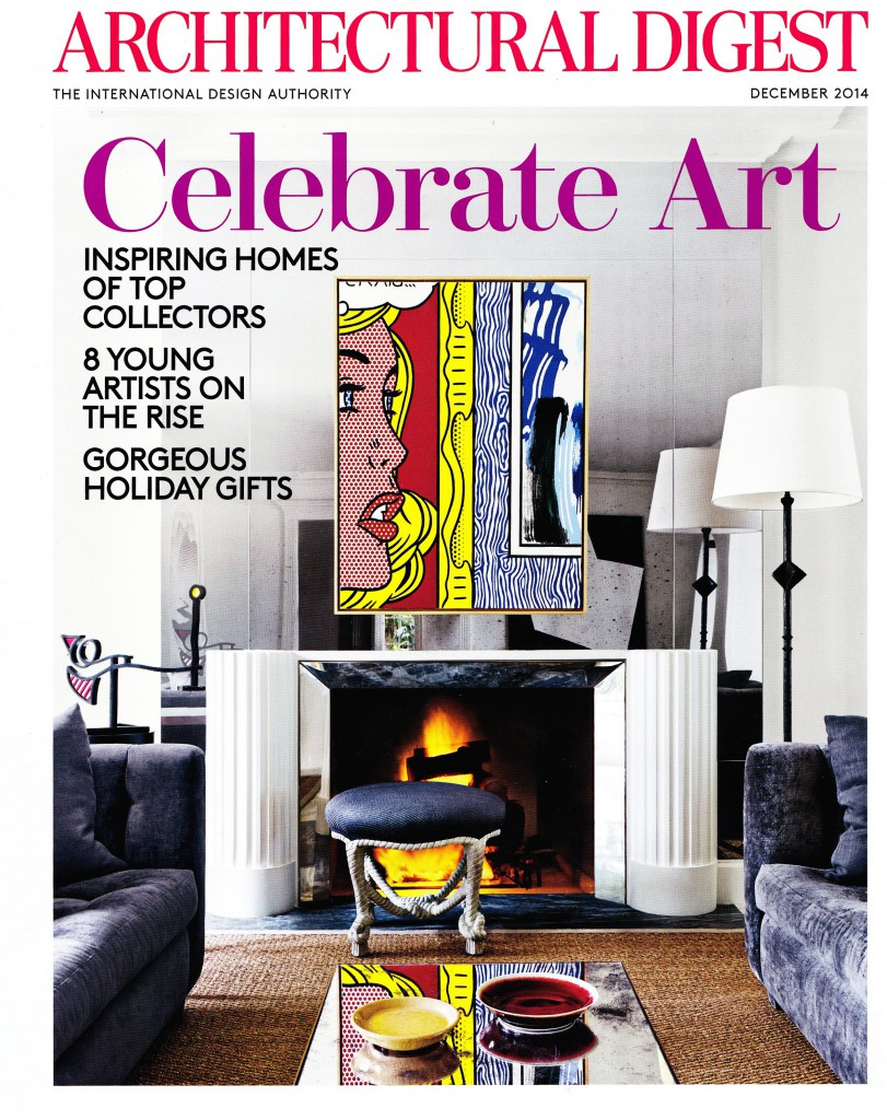 Architectural Digest Dec 2014 Cover