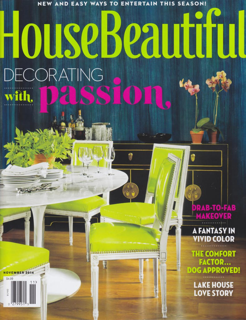 House Beautiful November 2014 Cover