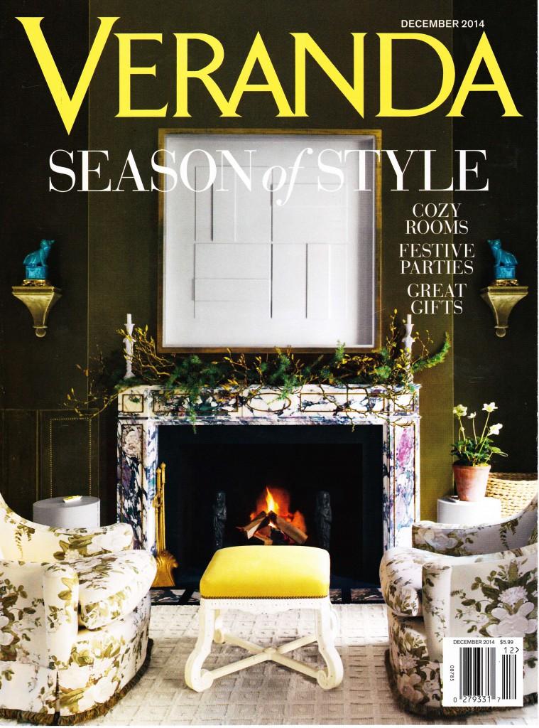 Veranda December 2014 Cover