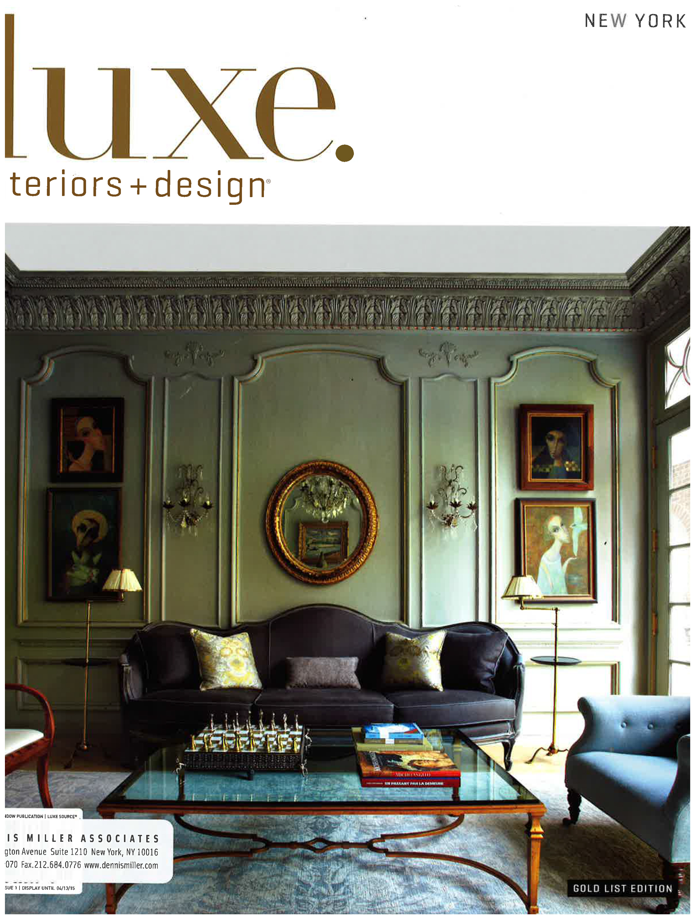 Luxe interiors design winter 2015 for Luxe interieur design