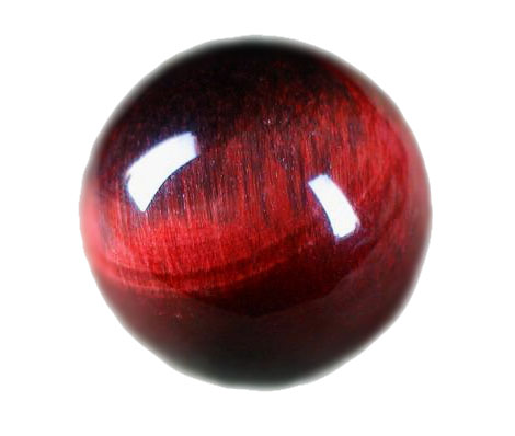 Red Tigerseye Round