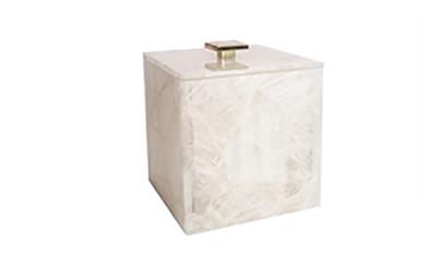Rock Crystal Ice Bucket