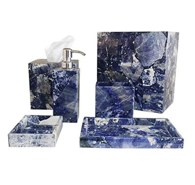 Sodalite Bath Accessories
