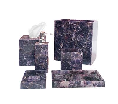 Amethyst Bath Accessories
